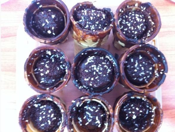 רוטב שוקולד, וסוכריות שוקולד
